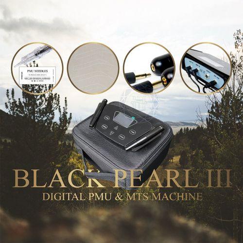 Máy Phun Xăm Kỹ Thuật Số Black Pearl III Nút Cảm Ứng
