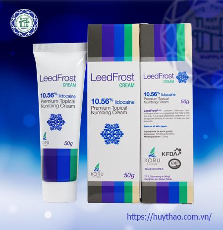 Tê phun xăm Leed Frost Cream